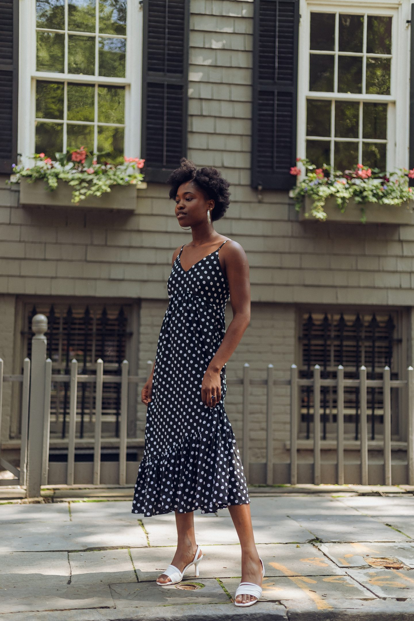 Trying the Polka Dot Dress Trend